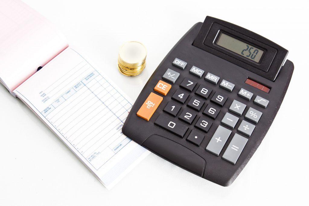 Onverwachte uitgaven berekenen