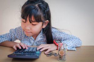sparen, afschrijven en voorzien - kinderen en zakgeld