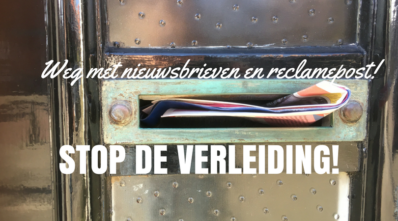 brievenbus - stop de verleidingen