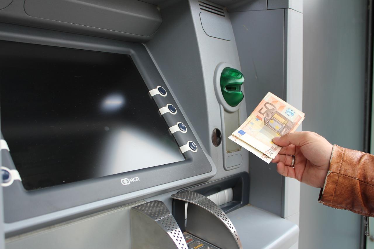 extra geld - geldautomaat