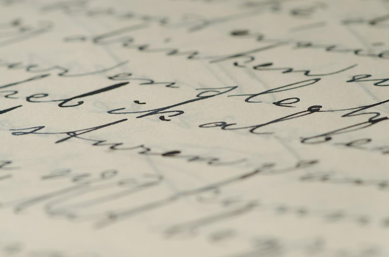 Brief Lieve Daantje