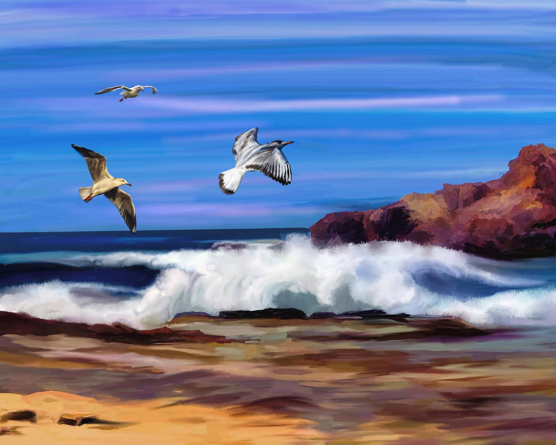Beleggen in kunst oceaan