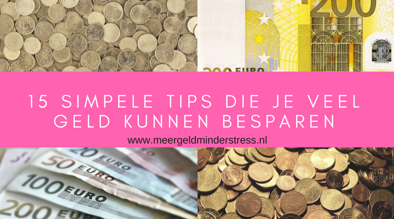 simpele tips besparen