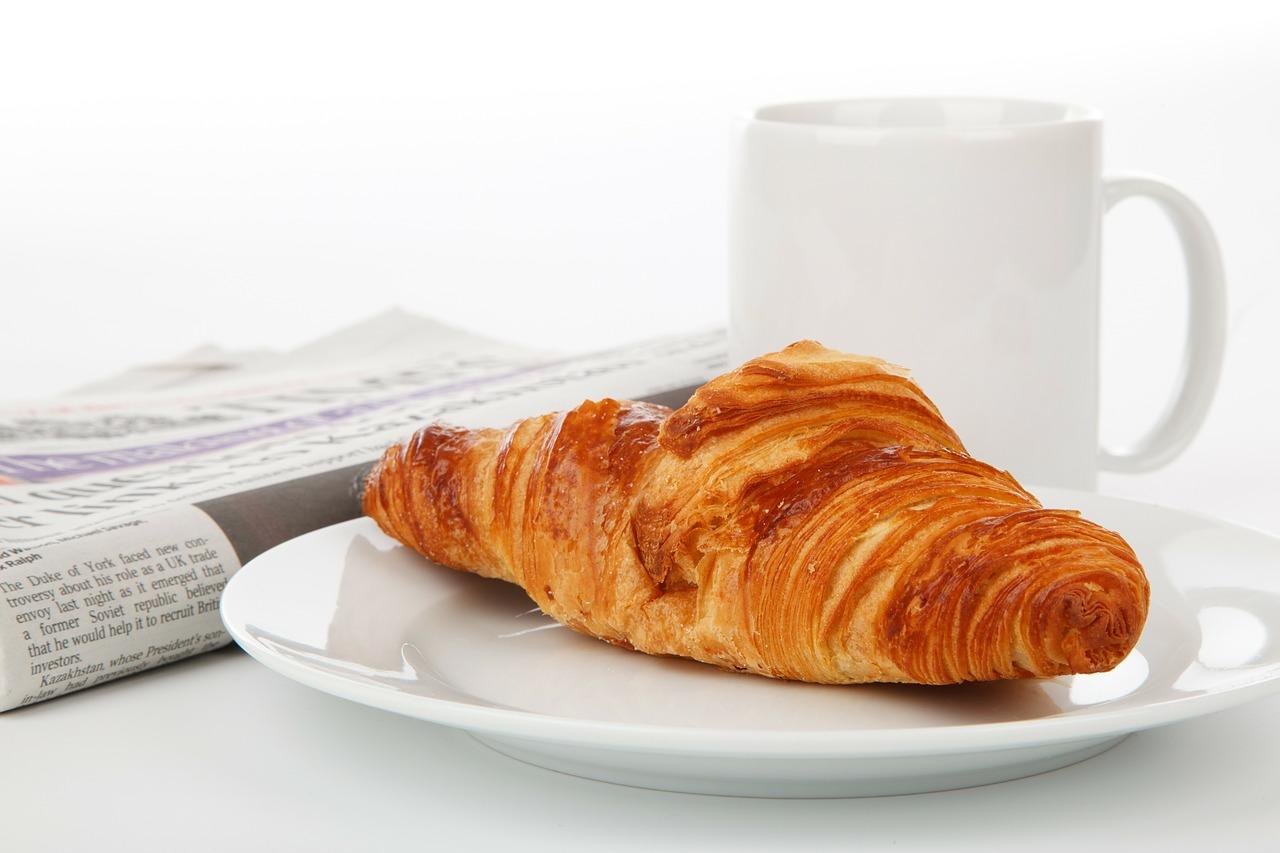 Je dag stressvrij beginnen - Croissant