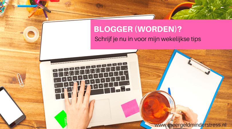blogger worden